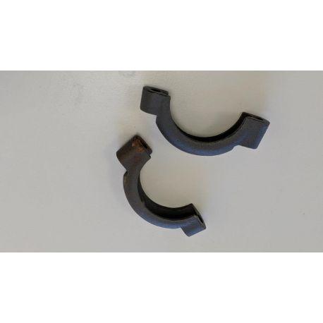 Collier échappement tube avant simple